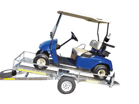 Car trailer plans utility build it yourself for Golf cart plans